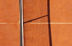 Corte de argila do tênis Fotografia de Stock