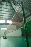 Corte de badminton Fotos de Stock