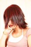 Corte de cabelo fotografia de stock