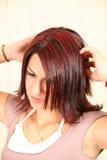 Corte de cabelo Fotos de Stock Royalty Free
