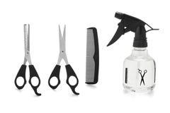 Corte de cabelo Accessrories Fotografia de Stock