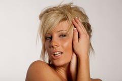 Corte de cabelo e penteado imagens de stock