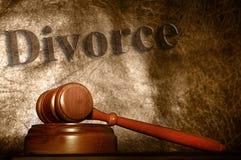 Corte de divórcio Fotografia de Stock Royalty Free