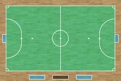 Corte de Futsal Foto de Stock