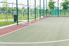 Corte de Futsal. Imágenes de archivo libres de regalías