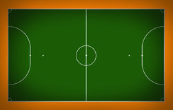 Corte de Futsal Imagens de Stock