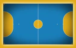 Corte de Futsal Fotos de archivo