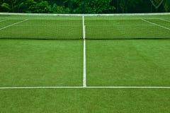 Corte de grama do tênis boa para o fundo Imagem de Stock