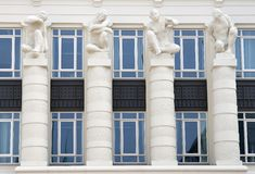 Corte de justiça em St. Esprit do platô, Luxembourg Foto de Stock