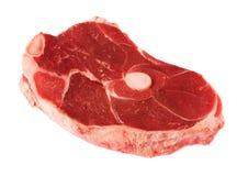 Corte de la carne roja Fotos de archivo