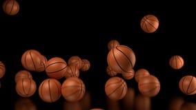 Corte de la cesta del deporte de la bola del baloncesto libre illustration