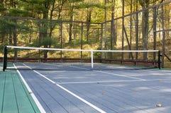 Corte de la paleta del tenis de la plataforma Imagen de archivo libre de regalías