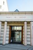 Corte de ley en Ginebra, Suiza Imagenes de archivo