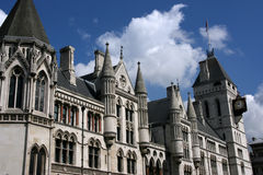 Corte de Londres Foto de archivo libre de regalías