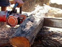 Corte de madera Imagen de archivo libre de regalías