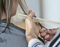 Corte de pelo imagen de archivo