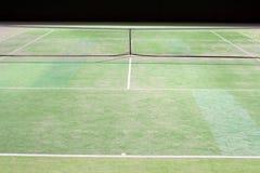 Corte de tênis Imagem de Stock
