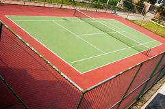 Corte de tênis Fotografia de Stock