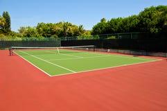 Corte de tênis Imagens de Stock Royalty Free