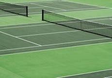 Corte de tênis Imagem de Stock Royalty Free