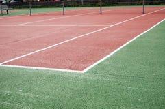 Corte de tênis imagens de stock