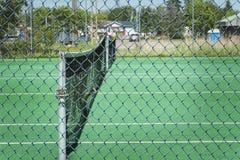 Corte de tênis ao ar livre Imagem de Stock
