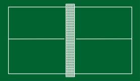 Corte de tênis da tabela Fotos de Stock