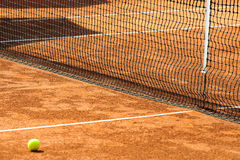 Corte de tênis vazia Imagens de Stock Royalty Free