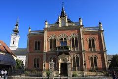 Corte de Vladicin, palacio del obispo en Novi Sad, Serbia Fotos de archivo