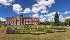 Corte de Witley e jardins históricos no verão, Worcestershire, Inglaterra Foto de Stock
