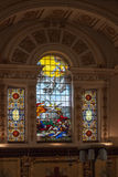 CORTE DE WITLEY, GRAN WITLEY/WORCESTERSHIRE - 10 DE ABRIL: St Michae Imágenes de archivo libres de regalías