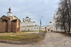 A corte de Yaroslav em um dia ensolarado Imagens de Stock Royalty Free