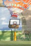 Corte del aro de baloncesto Fotografía de archivo libre de regalías