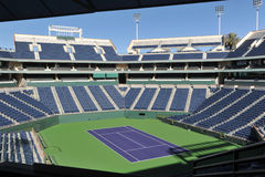 Corte del centro de jardinería del tenis de Indian Wells Imagenes de archivo