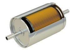 Corte del filtro de combustible ilustración del vector