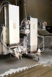 Corte del jet de agua Foto de archivo libre de regalías