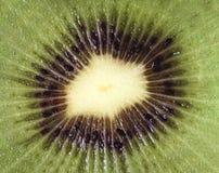 Corte del kiwi Imagen de archivo libre de regalías