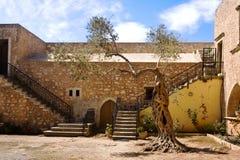 Corte del monasterio Imagen de archivo libre de regalías