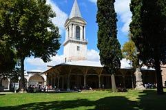 Corte del palacio de Topkapi Imágenes de archivo libres de regalías