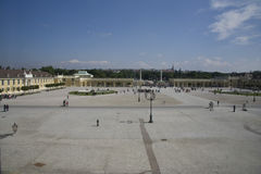 Corte del palazzo di Schönbrunn Fotografia Stock Libera da Diritti