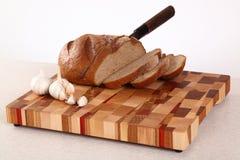 Corte del pan Imagen de archivo