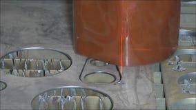Corte del plasma Imagen de archivo