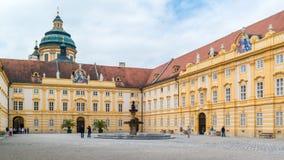 Corte del prelado de la abadía de Melk, Austria Fotografía de archivo libre de regalías