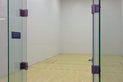 Corte del Racquetball foto de archivo