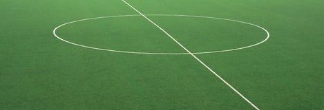 Corte di calcio Immagini Stock