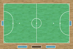 Corte di Futsal illustrazione vettoriale