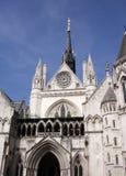 Corte di Giustizia reale Fotografie Stock
