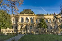 Corte di patriarcato in Sremski Karlovci, Serbia Immagine Stock