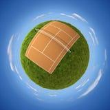 Corte di tennis royalty illustrazione gratis