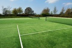 Corte di tennis Immagini Stock Libere da Diritti